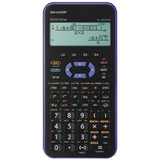 SHARP Taschenrechner EL-W531XH-VL violett