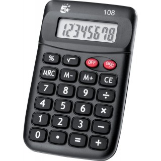 5 STAR Taschenrechner 108 8-stellig