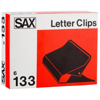 SAX Papierklemmen 133 6 Stück mehrere Farben