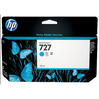 HP Tinte Nr. 727 130 ml cyan