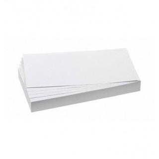 FRANKEN Moderationskarten 500 Stück Rechteck 205 x 95 mm weiß