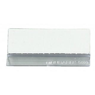 DURABLE Reiter 10 Stück für Sichttafeln 58 mm transparent