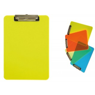 MAUL Schreibplatte A4 transparentes gelb