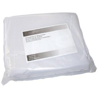 IDEAL Aktenvernichtersäcke 9000037 140 Liter 50 Stück transparent