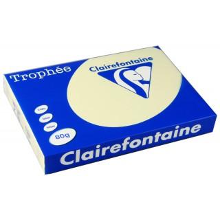 Clairefontaine Trophèe Kopierpapier 1895C A3 80 g/m² 500 Blatt kirschrot