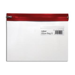 SNOPAKE Reißverschlusstasche 12692 A5 rot