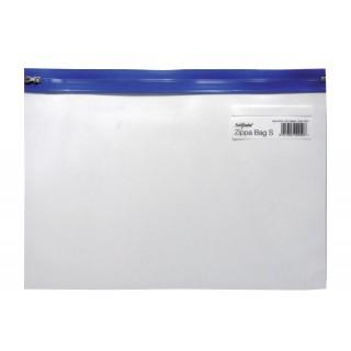 SNOPAKE Reißverschlusstasche 12736 A4 blau