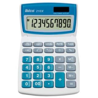 IBICO Taschenrechner 210X grau/blau