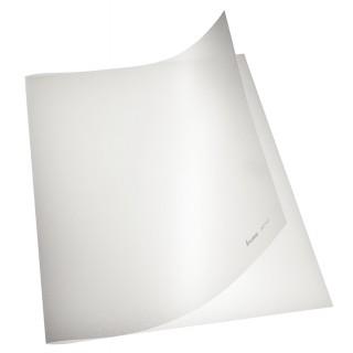 BENE Klemmschienenmappe 207701 20 Stück PP genarbt transparent