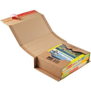 COLOM PAC Versandkarton zum Wickeln C4+ 20 Stück braun