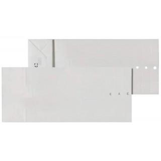 ÖKI Mustersäcke 115 x 270 mm ohne Druck 200 Stück weiß