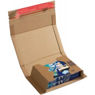COLOM PAC Versandkarton zum Wickeln A5+ 251 x 165 + 60 mm braun