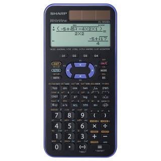 SHARP Taschenrechner EL W506 X-VL violett