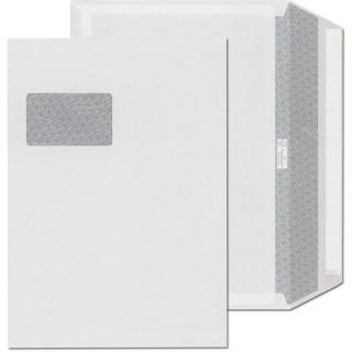 ÖKI Fensterkuvert 250 Stück C4 120 g/m² mit Seitenfalte und Haftstreifen weiß