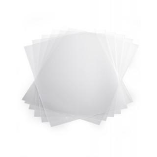 DURABLE Klemmschienenhüllen 50 Stück DIN A4 transparent