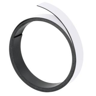 FRANKEN Magnetband 10 mm x 1m weiß