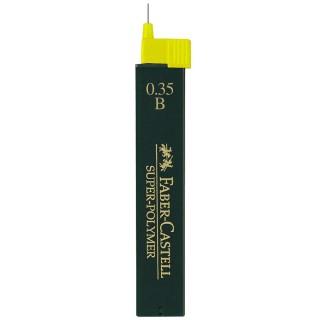 FABER-CASTELL Feinminen 1203 SUPER-POLYMER 12 Stück 0,35 mm B