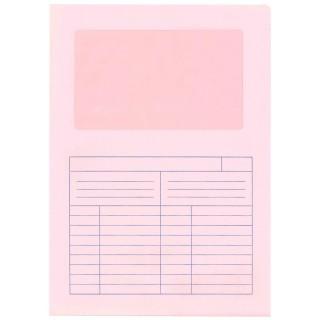 TIDYPAC Ordo-Mappe 091.013 500 Stück rosa