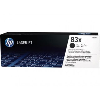 HP LJ Cartridge Nr.83X black