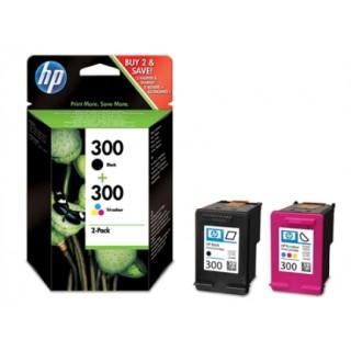 HP Tintenpatrone Nr. 300 2 Stück schwarz und color
