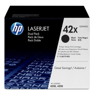 HP LJ Cartridge Nr.42X black 1x2