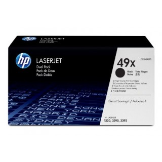 HP LJ Cartridge Nr.49X black 1x2