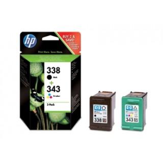 HP Ink Nr.338 + Nr.343