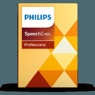 PHILIPS Transkriptionssoftware SpeechExec Pro Lizenz Version 11 Zweijahresabo