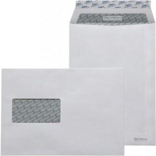 ÖKI Fenstertasche mit Haftklebestreifen 500 Stück C5 weiß