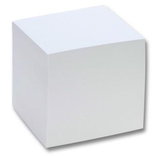 FOLIA Zettelboxeinlage 9 x 9 x 9 cm ungeleimt 700 Zettel weiß