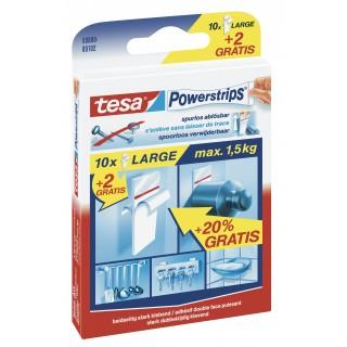 TESA Powerstrips Large 58000 10 Stück