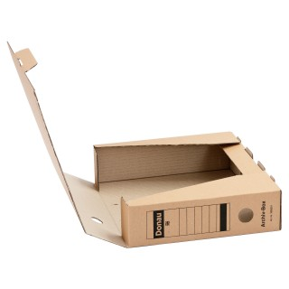 DONAU Archivbox A4 braun