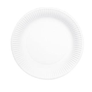 HOSTI Einweg-Teller 100 Stück 23 cm weiß