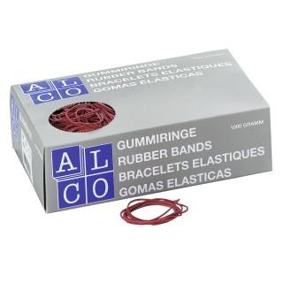 ALCO Gummiringe Ø 40 mm 1 kg rot