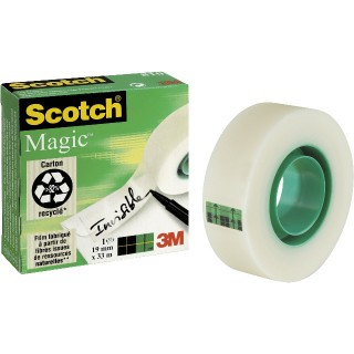 SCOTCH Klebeband Magic 19 mm x 33 m transparent