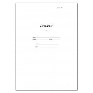 URSUS GREEN Schularbeitsbogen 10 Blatt A3