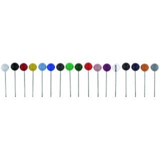 ALCO Landkartennadeln 100 Stück farbig sortiert