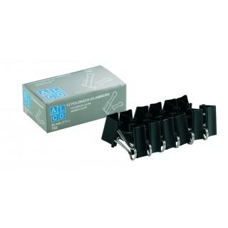 ALCO Foldbackklammer 783S 12 Stück 32 mm schwarz