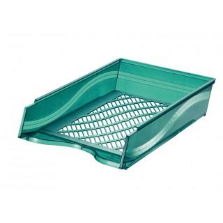 BENE Briefkorb A4/C4 grün metallic