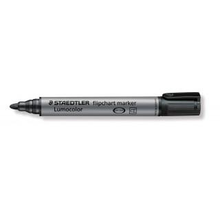 STAEDTLER Flipchartmarker Lumocolor 356 mit Rundspitze 2 mm schwarz
