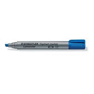 STAEDTLER Flipchartmarker Lumocolor 356B mit Keilspitze 2-5 mm blau