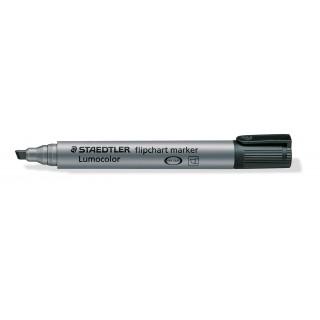 STAEDTLER Flipchartmarker Lumocolor 356B mit Keilspitze 2-5 mm schwarz