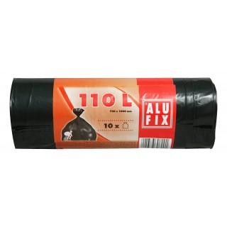 ALUFIX Müllsäcke 10 Stück 110 Liter schwarz
