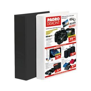Präsentationsringbuch 4-Ring 30 mm