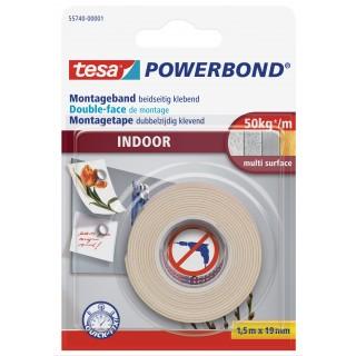 TESA Montageband Indoor 55740 19 mm x 1,5 m