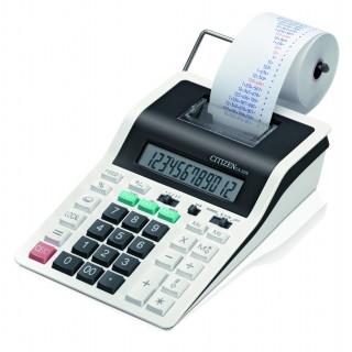 CITIZEN Tischrechner CX-32N mit Drucker weiß/schwarz