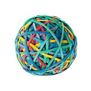 ALCO Gummiringball 320 Stück ø 50mm mehrere Farben
