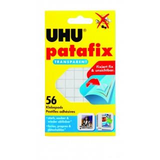 UHU Klebepad Patafix 48815 56 Stück transparent