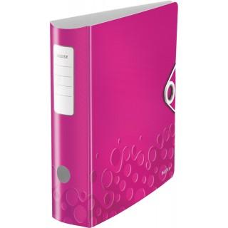 "LEITZ Ordner ""WOW"" A4 8 cm pink metallic"