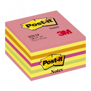 POST-IT® Haftnotizwürfel 2028NP 450 Blatt 76 x 76 mm mehrfarbig